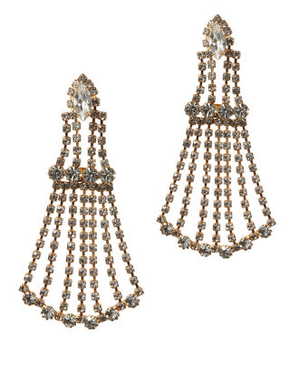 Chandelier Earrings, GOLD, hi-res
