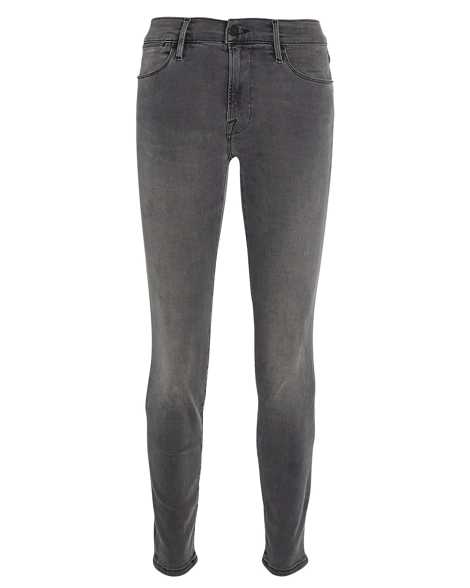 Le High Skinny Jeans, FADED BLACK DENIM, hi-res