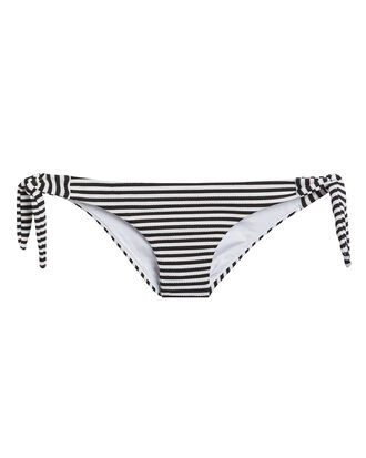 Tie Side Striped Bikini Bottom, MULTI, hi-res