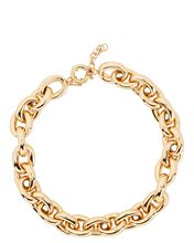 Andrew Rounded Chain Necklace, GOLD, hi-res
