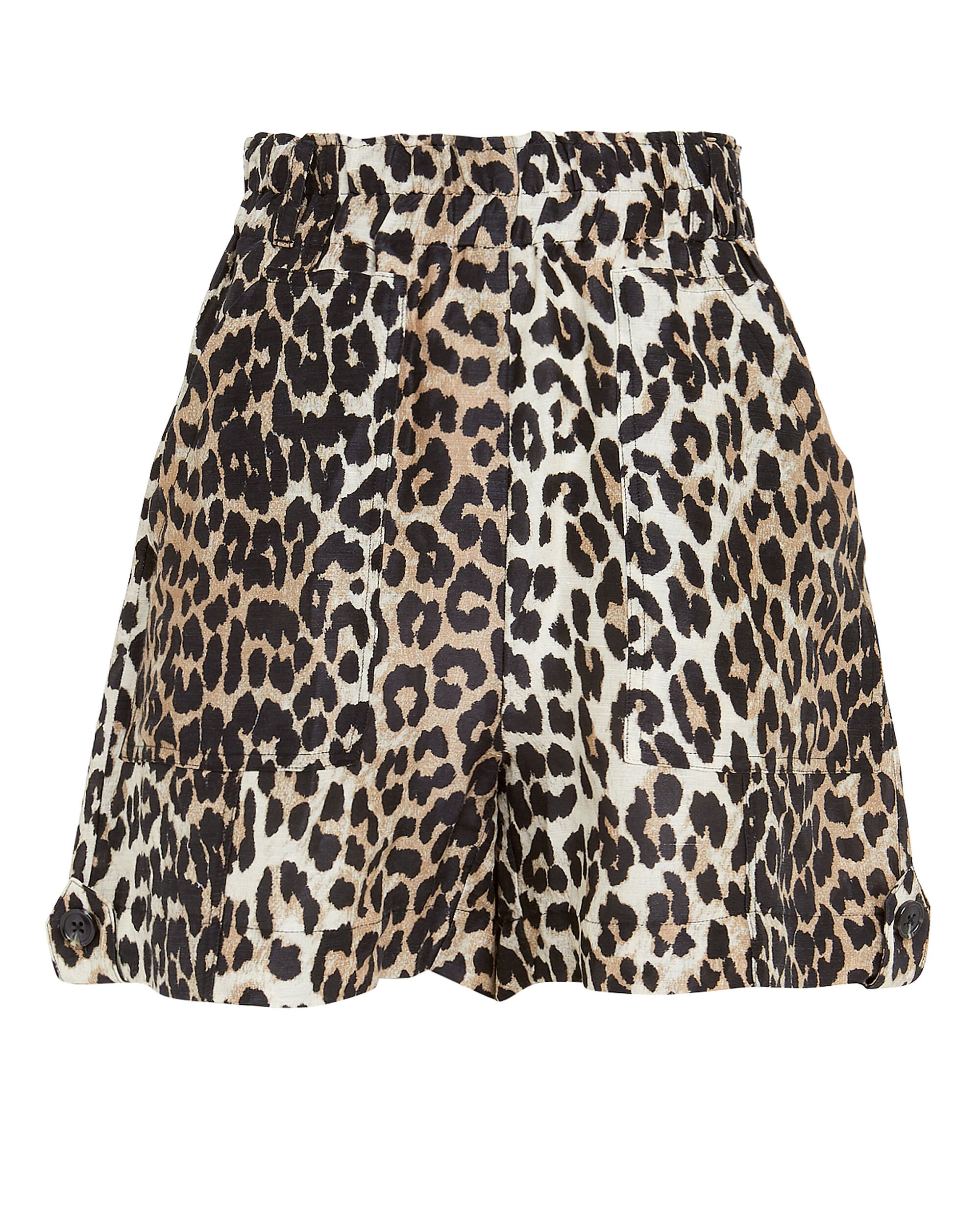 Leopard Shorts, MULTI, hi-res