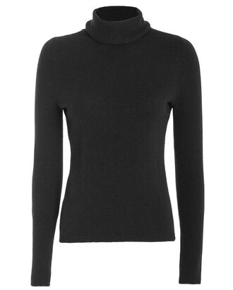 Tamara Cashmere Turtleneck Sweater, BLACK, hi-res