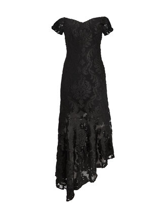 Fleur De Lys Dress, BLACK, hi-res