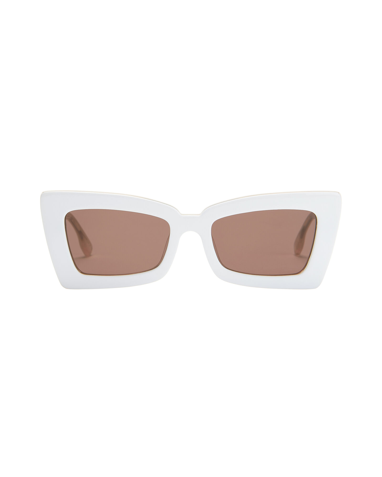 Zaap Rectangle Sunglasses, WHITE, hi-res