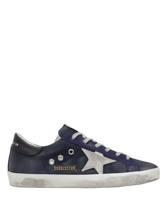 Superstar Satin Low-Top Sneakers, BLUE/ICE, hi-res