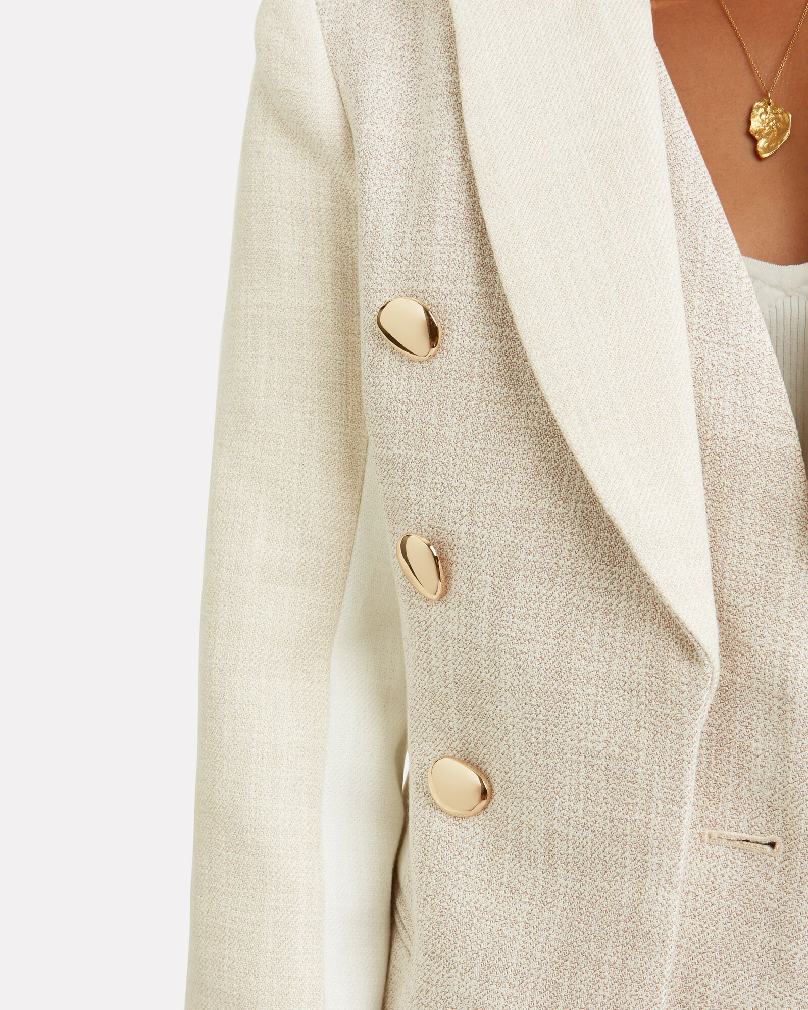 Kings Double-Breasted Blazer, GREY, hi-res