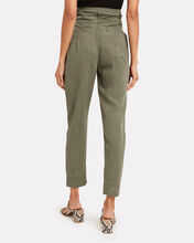 Harem Pleated Military Pants, OLIVE/ARMY, hi-res