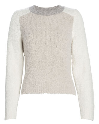 Davis Merino Wool Colorblock Sweater, IVORY, hi-res