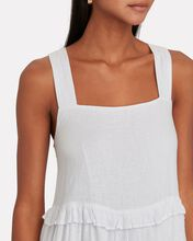 Sandy Sleeveless Mini Dress, WHITE, hi-res