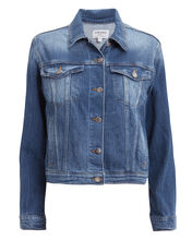 Le Vintage Denim Jacket, MEDIUM DENIM, hi-res