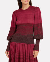 Dax Ombré Knit Sweater, PINK, hi-res