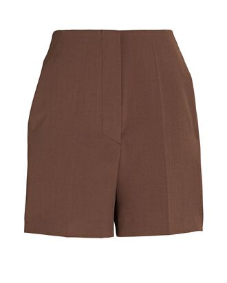 Daira High-Rise Shorts, BROWN, hi-res