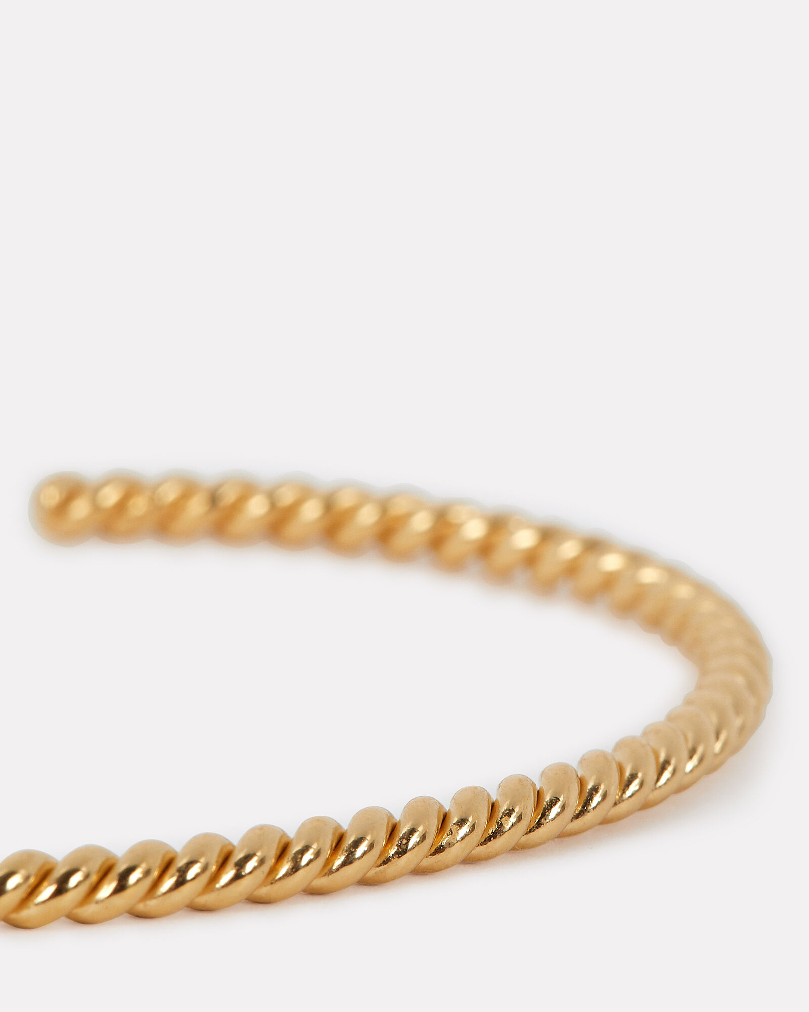 Thin Twisted Bracelet, GOLD, hi-res