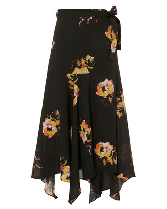 Borden Saffron Midi Skirt, MULTI, hi-res