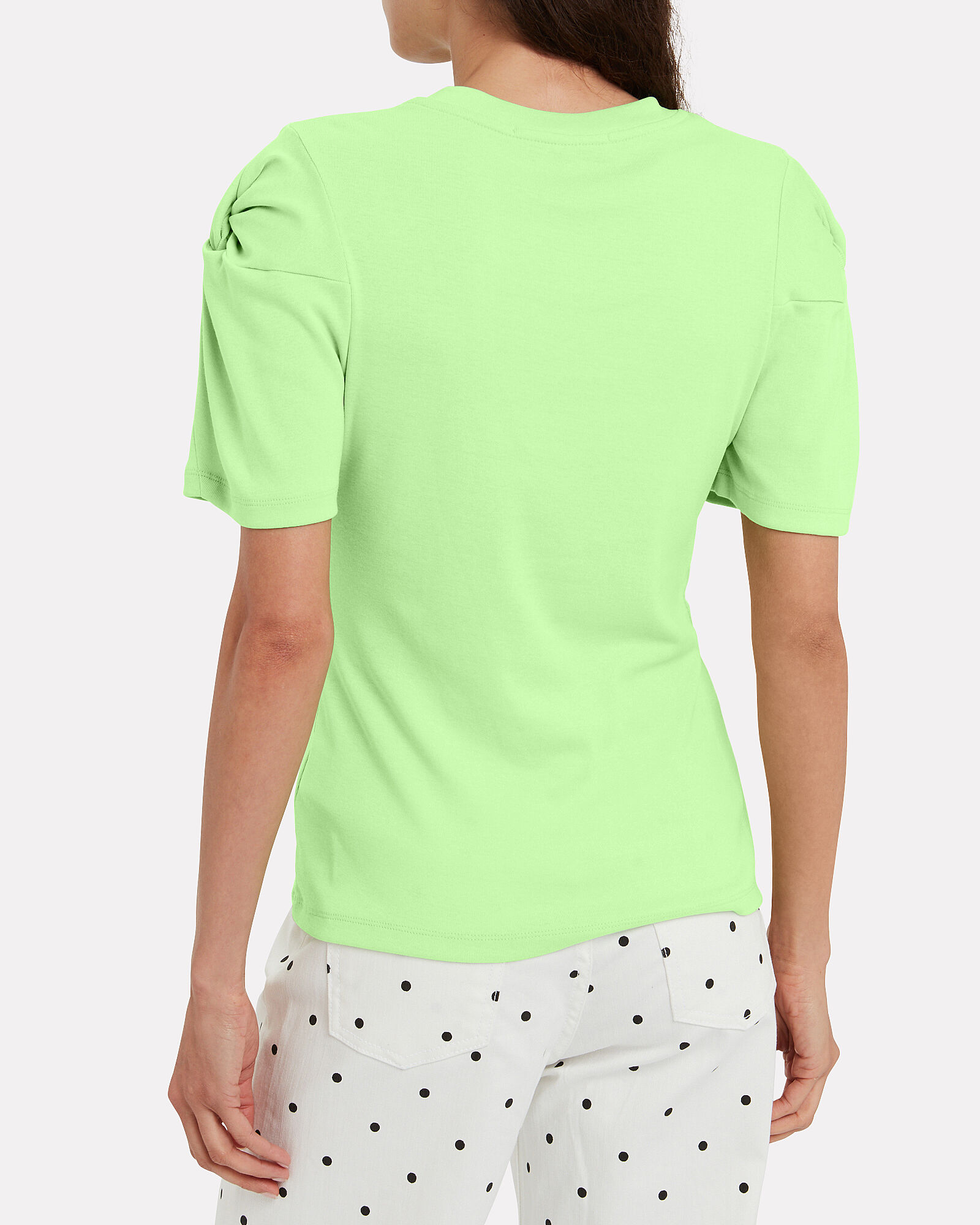 Knot On Jersey T-Shirt, GREEN-LT, hi-res