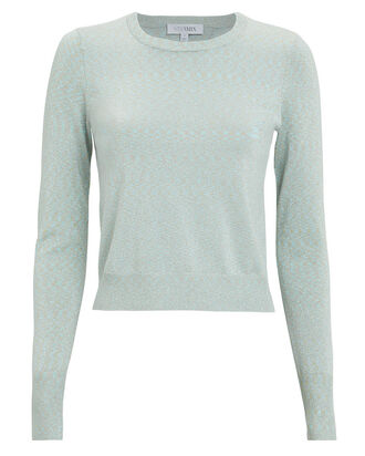 Gisele Lurex Top, GREEN-LT, hi-res
