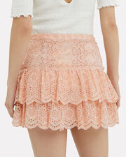 Amy Mini Skirt, BLUSH, hi-res