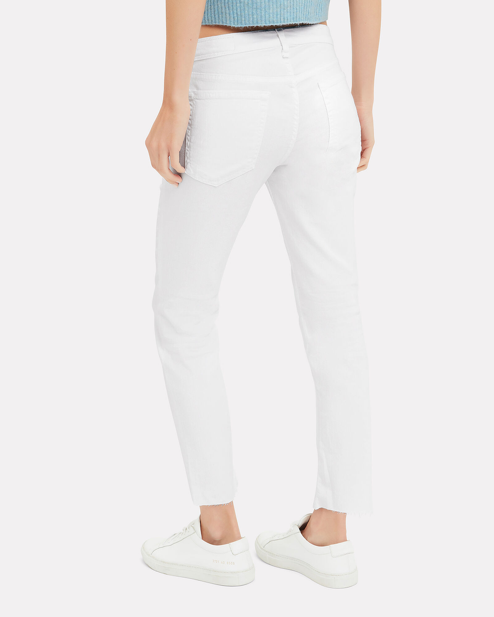 Dre Skinny Jeans, WHITE DENIM, hi-res