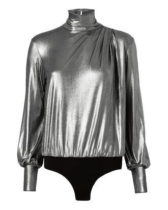 Nofar Lurex Bodysuit, METALLIC, hi-res