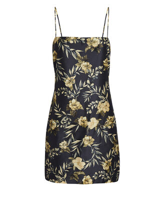 Carmen Floral Print Mini Dress, MULTI, hi-res