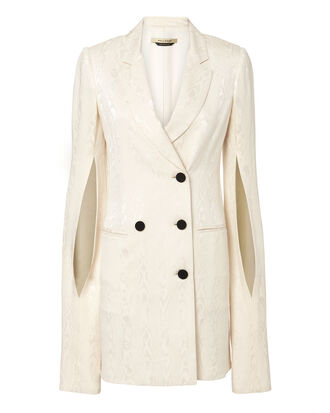 Thatcher Ivory Blazer Dress, IVORY, hi-res