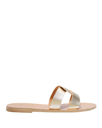 Desmos Platinum Sandals, GOLD, hi-res