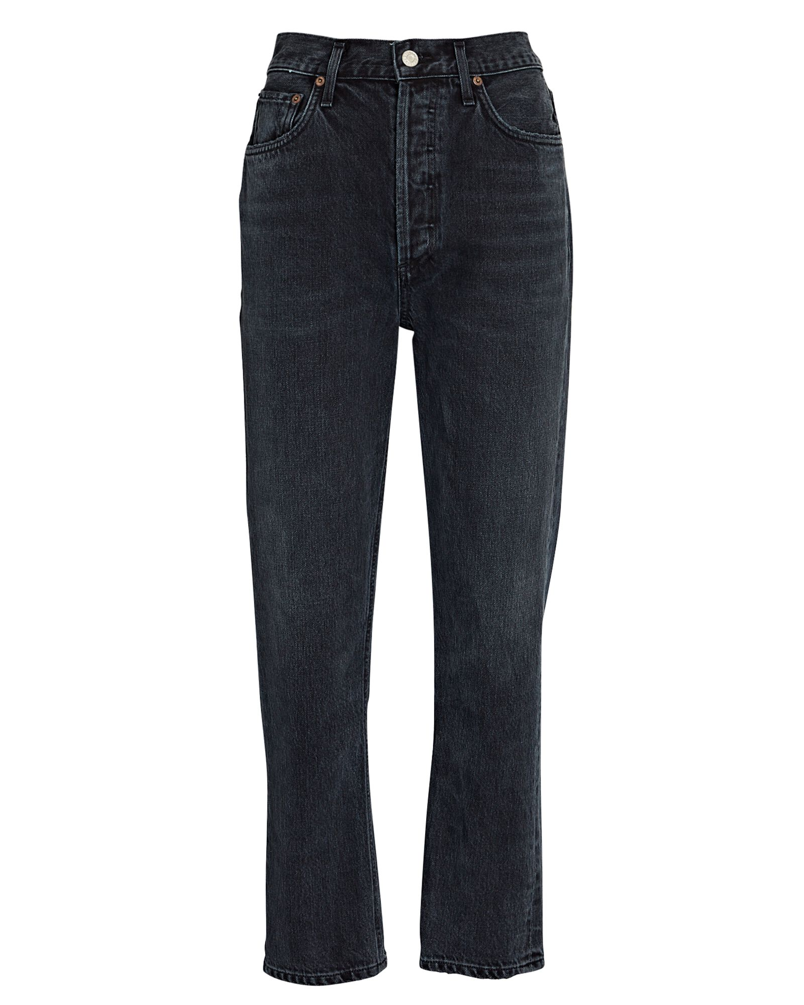 Riley High-Rise Straight Cropped Jeans, EDIT, hi-res