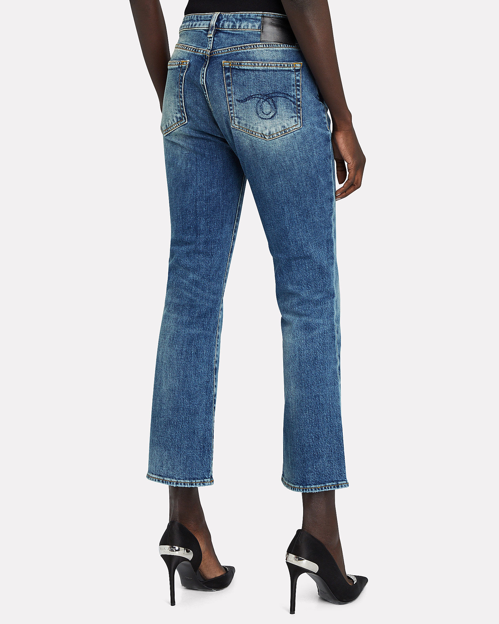 Kick Fit High-Rise Jeans, JASPER STRETCH, hi-res