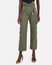 Thomas Canvas Cargo Pants, OLIVE/ARMY, hi-res