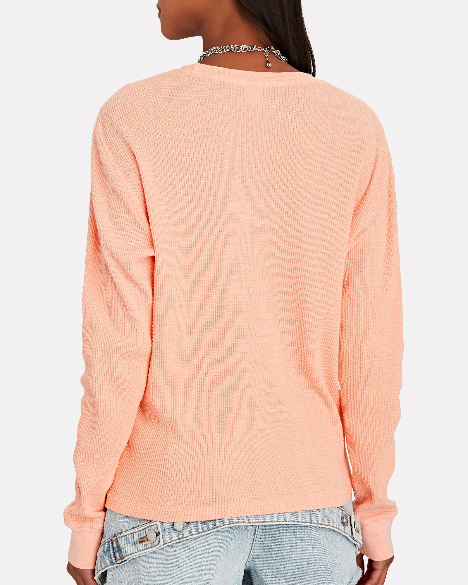 Thermal Long Sleeve T-Shirt, CORAL, hi-res