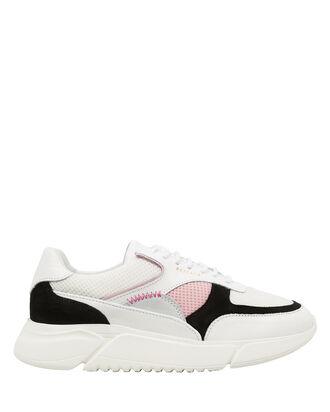 Genesis Colorblock Running Sneakers, WHITE/PALE PINK/BLACK, hi-res