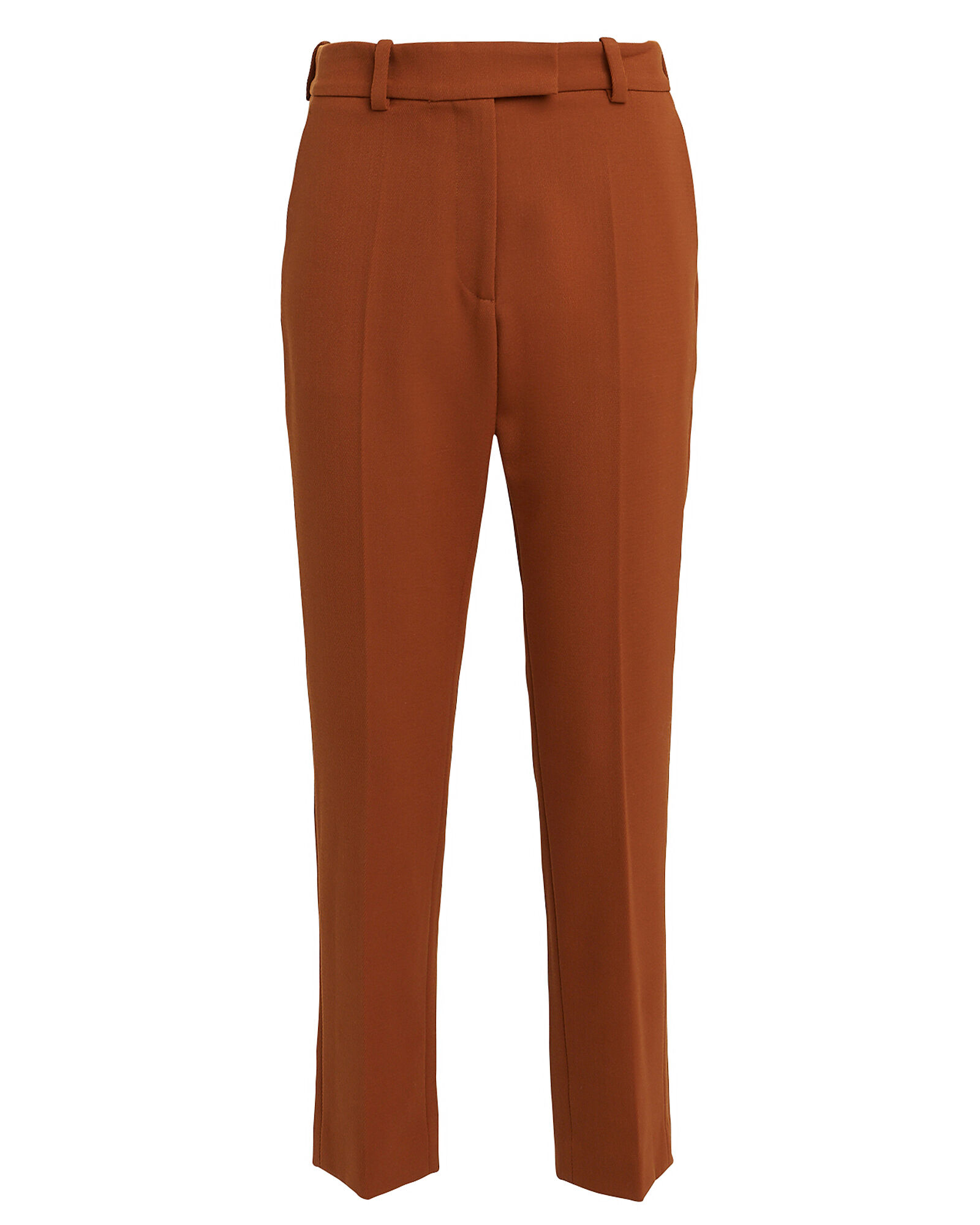 Oscar Drill Wool Trousers, BEIGE, hi-res