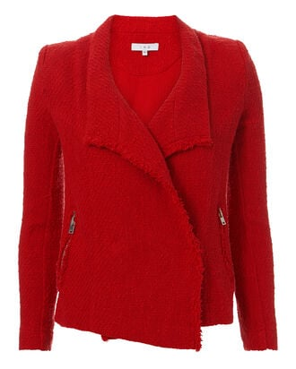 Mira Poppy Jacket, RED, hi-res
