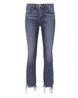 Ace Raw Edge Skinny Jeans, DENIM, hi-res