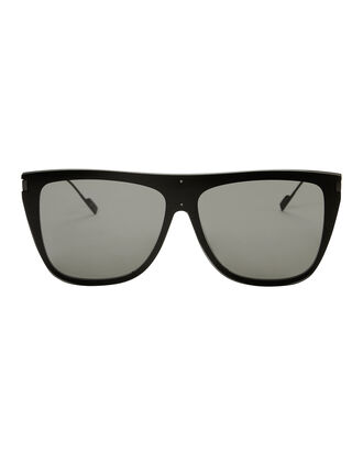 SL 1 Flat Top Sunglasses, BLACK, hi-res