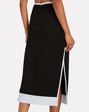 Desmond Knit Midi Pencil Skirt, BLACK, hi-res