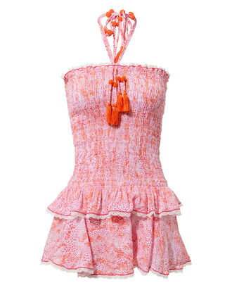 Garbo Bando Dress, ORANGE, hi-res