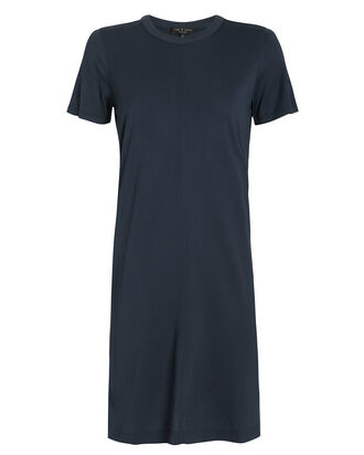 Allegra Jersey T-Shirt Dress, NAVY, hi-res