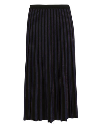Klara Midi Skirt, BLACK/PURPLE, hi-res