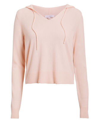 Matilda Cropped Sweater, BLUSH, hi-res