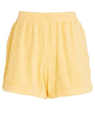 Cruise Cotton Terry Shorts, YELLOW, hi-res