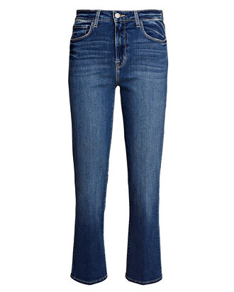 Nadia Cropped High-Rise Jeans, Medium Denim Wash, hi-res