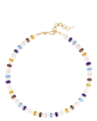 Happy Camper Beaded Necklace, MULTI, hi-res