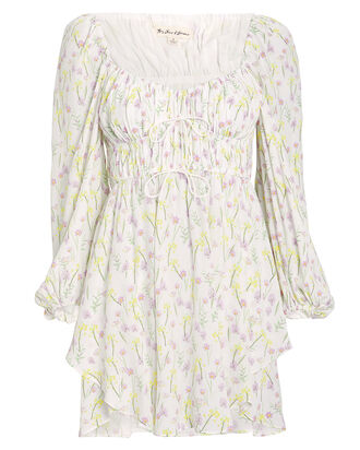 Strudel Floral Dress, WHITE/FLORAL, hi-res