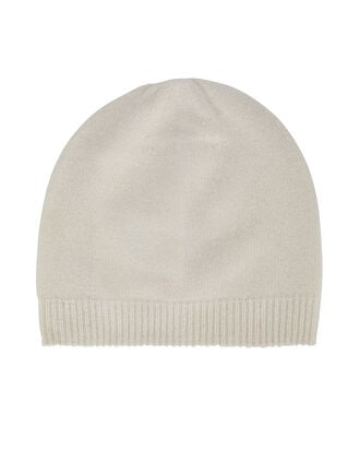 Cashmere Beanie, IVORY, hi-res