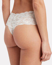 Never Say Never Comfie Thong 2-Pack Stocking Stuffer, IVORY/BLUSH, hi-res