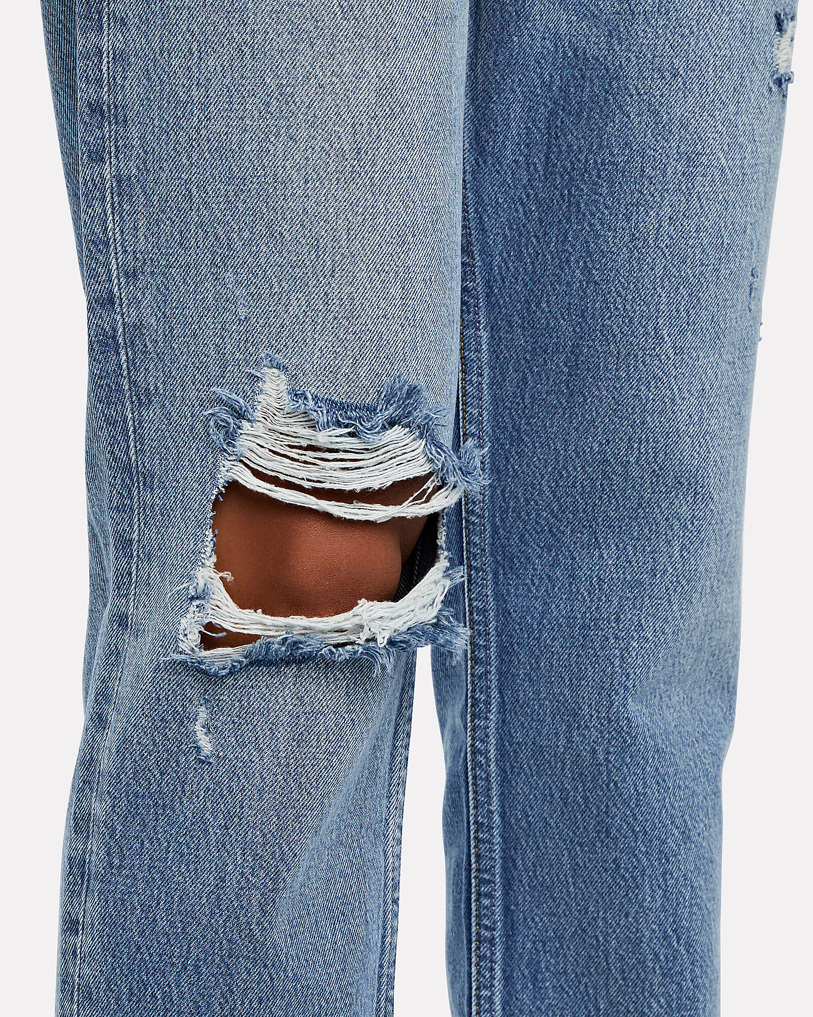 Billy Distressed High-Rise Jeans, Great Dictator, hi-res