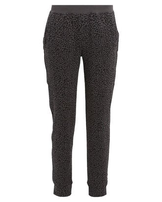 French Terry Leopard Sweatpants, ASPHALT/LEOPARD, hi-res