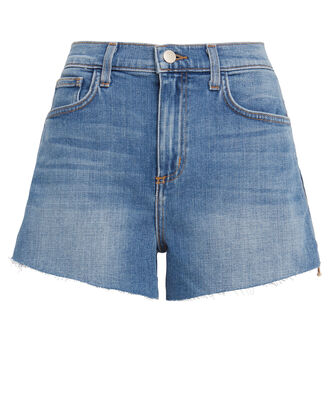 Ryland Denim Shorts, MEDIUM DENIM WASH, hi-res