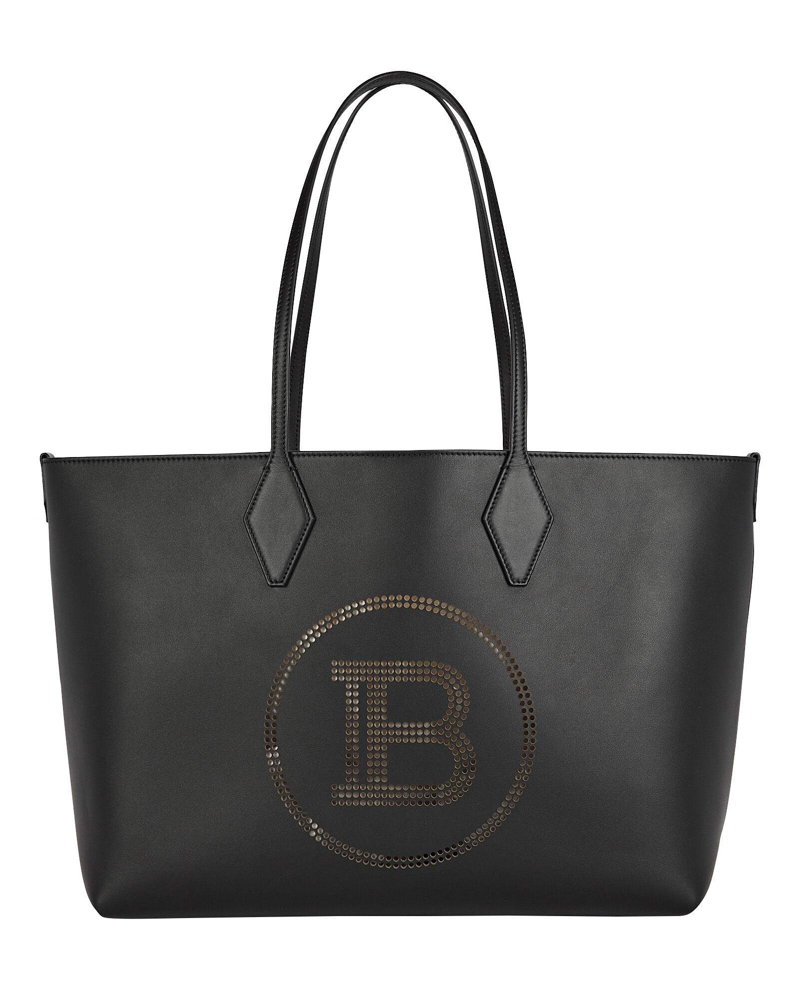Logo 37 Shopper Tote Bag, BLACK, hi-res